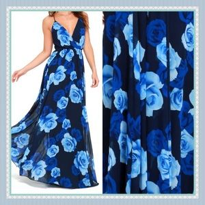 Only in Dreams  Floral Print Maxi Dress